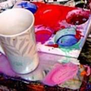 Mug And Palatte Poster