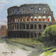 The Coliseum Rome Poster