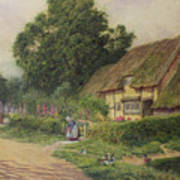 The Coming Of The Haycart  Poster by Arthur Claude Strachan