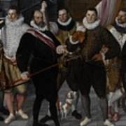 The Company Of Captain Dirck Jacobsz Rosecrans And Lieutenant Pauw, Amsterdam Poster