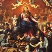 The Coronation Of The Virgin 1626 Poster