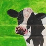 The Cow Poster