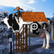The Cow House Poster