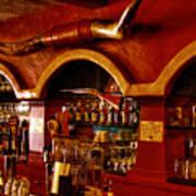 The Cowboy Club Bar In Sedona Arizona Poster by David Patterson