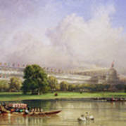 The Crystal Palace Seen From The Serpentine Poster
