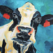 The Curious Cow Poster