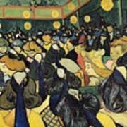 The Dance Hall At Arles Poster by Vincent Van Gogh