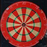 The Dart Board Poster