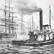 The Days Of Steam And Sail Poster