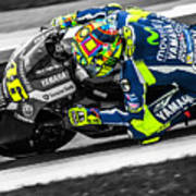 The Doctor At Assen Poster
