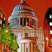 The Dome Of St Pauls Poster