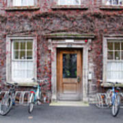 The Dorms At Trinity College Dublin Ireland Poster