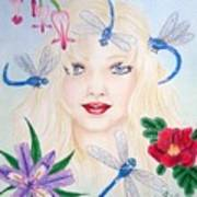 The Dragonfly Girl Poster