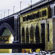 The Eads Bridge Poster