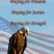 The Eagles Prayer Poster