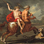 The Education Of Achilles Poster