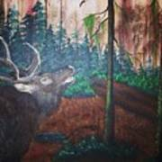 The Elk Poster
