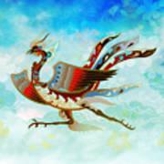 The Empress - Flight Of Phoenix - Blue Version Poster