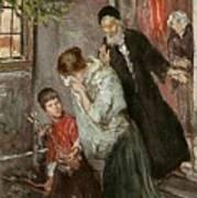 The Expulsion Of Hagar Poster