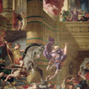 The Expulsion Of Heliodorus Poster