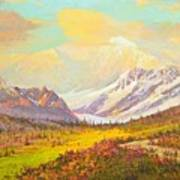 The Fall Colors Of Alaska Route 8 No.3 Poster