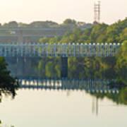 The Falls And Roosevelt Expressway Bridges - Philadelphia Poster