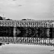 The Falls Bridge From Kelly Drive Poster