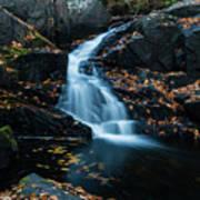 The Falls Of Black Creek In Autumn II Poster