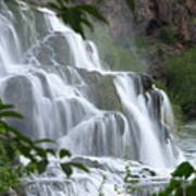 The Falls Of Fall Creek Poster