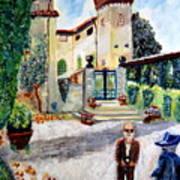 The Farm In Montelopio -pisa Poster
