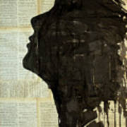 The Female Silhouette . Poster