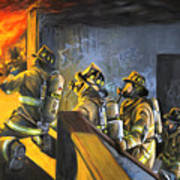 The Fire Floor Poster