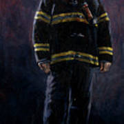 The Firefighter  Poster