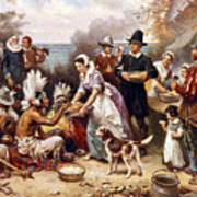 The First Thanksgiving Poster