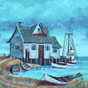 The Fish House Poster