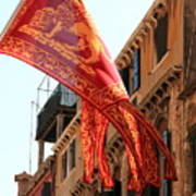 The Flag Of Venice Poster