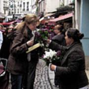 The Flower Seller Poster