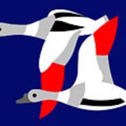 The Flying Ducks Poster