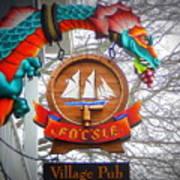 The Fo'c'sle Village Pub Poster