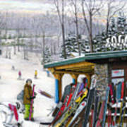 The Foggy Goggle At Seven Springs Poster