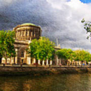 The Four Courts In Reconstruction 2 Poster
