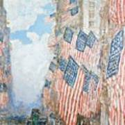 The Fourth Of July Poster by Childe Hassam