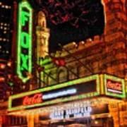 The Fox Theater Atlanta Ga. Poster