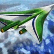 The Future Of Air Transportation Poster