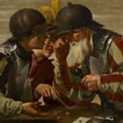 The Gamblers Poster by Hendrick Ter Brugghen