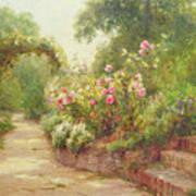 The Garden Steps   Poster