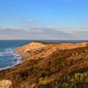 The Gay Head Cliffs In Autumn Poster