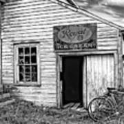 The General Store Bw Poster
