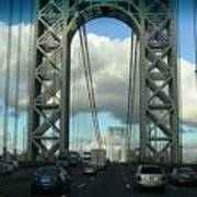 The George Washington Bridge  Poster