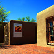 The Georgia O'keeffe Museum In Santa Fe Poster